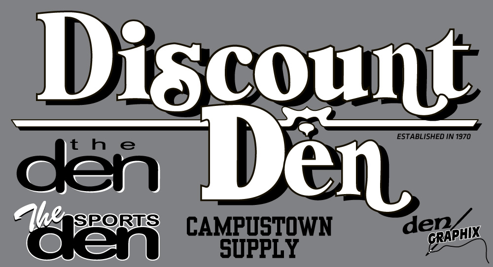 Discount Den - The Den - Campustown Supply
